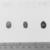 <em>Small Scarab Seal</em>, ca. 1539-1292 B.C.E. Glass, 1/4 x 3/8 x 1/2 in. (0.7 x 0.9 x 1.2 cm). Brooklyn Museum, Charles Edwin Wilbour Fund, 37.509E. Creative Commons-BY (Photo: , CUR.35.1515_35.1517_37.509E_NegID_35.1515GRPB_print_bw.jpg)