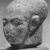 <em>Head of a Princess</em>, ca. 1352-1336 B.C.E. Granite, pigment, 9 5/8 x 5 7/16 in. (24.4 x 13.8 cm). Brooklyn Museum, Gift of the Egypt Exploration Society, 35.2006. Creative Commons-BY (Photo: , CUR.35.2006_NegC_print_bw.jpg)