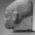 <em>Head of a Princess</em>, ca. 1352-1336 B.C.E. Granite, pigment, 9 5/8 x 5 7/16 in. (24.4 x 13.8 cm). Brooklyn Museum, Gift of the Egypt Exploration Society, 35.2006. Creative Commons-BY (Photo: , CUR.35.2006_NegD_print_bw.jpg)