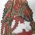 <em>Shadow Play Figure (Wayang kulit)</em>. Leather, pigment, wood, fiber, 20 1/16 × 10 1/4 in. (51 × 26 cm). Brooklyn Museum, Gift of Appleton Sturgis, 35.2113. Creative Commons-BY (Photo: , CUR.35.2113_detail2.jpg)