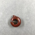 <em>Ring with Small Loop</em>. Jasper (?), 7/8 × 5/16 × 1 in. (2.3 × 0.8 × 2.6 cm). Brooklyn Museum, Charles Edwin Wilbour Fund, 37.1473E. Creative Commons-BY (Photo: , CUR.37.1473E_view02.jpg)