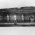 <em>Outer Coffin of Kamwese</em>, ca. 1539-1295 B.C.E. Wood, pigment, 41 3/4 x 35 7/16 x 95 1/4 in. (106 x 90 x 242 cm). Brooklyn Museum, Charles Edwin Wilbour Fund, 37.15E. Creative Commons-BY (Photo: , CUR.37.15E_NegE_print_bw.jpg)