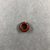 <em>Penannular Earring</em>. Red jasper, Diam. 1/4 × 9/16 in. (0.6 × 1.5 cm). Brooklyn Museum, Charles Edwin Wilbour Fund, 37.1963E. Creative Commons-BY (Photo: , CUR.37.1963E_view01.jpg)
