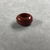 <em>Penannular Earring</em>, ca. 1539-1190 B.C.E. Red jasper, 1/4 × Diam. 1/2 in. (0.6 × 1.2 cm). Brooklyn Museum, Charles Edwin Wilbour Fund, 37.1965E. Creative Commons-BY (Photo: , CUR.37.1965E_view03.jpg)