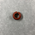 <em>Penannular Earring</em>, ca. 1539-1190 B.C.E. Red jasper, Diam. 1/4 × 9/16 in. (0.6 × 1.4 cm). Brooklyn Museum, Charles Edwin Wilbour Fund, 37.1966E. Creative Commons-BY (Photo: , CUR.37.1966E_view02.jpg)