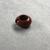 <em>Penannular Earring</em>, ca. 1539-1190 B.C.E. Red jasper, 1/4 × Diam. 1/2 in. (0.6 × 1.2 cm). Brooklyn Museum, Charles Edwin Wilbour Fund, 37.1968E. Creative Commons-BY (Photo: , CUR.37.1968E_view03.jpg)