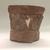 Aztec. <em>Fragment of Large Incersario</em>. Ceramic, 8 1/2 x 8 x 5in. (21.6 x 20.3 x 12.7cm). Brooklyn Museum, 37.235. Creative Commons-BY (Photo: , CUR.37.235.jpg)
