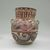 Tonala. <em>Large Jar</em>, circa 1848. Ceramic, pigment, 8 1/2 x 8 x 7 in. (21.6 x 20.3 x 17.8 cm). Brooklyn Museum, Frank Sherman Benson Fund and the Henry L. Batterman Fund, 37.2969PA. Creative Commons-BY (Photo: , CUR.37.2969PA_view01.jpg)