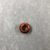 <em>Penannular Earring</em>, ca. 2008-1721 B.C.E. Carnelian, Diam. 1/4 × 5/8 in. (0.6 × 1.6 cm). Brooklyn Museum, Charles Edwin Wilbour Fund, 37.315E. Creative Commons-BY (Photo: , CUR.37.315E_view01.jpg)