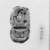 <em>Seal Stamp</em>. Faience, 7/8 in. (2.2 cm). Brooklyn Museum, Charles Edwin Wilbour Fund, 37.530E. Creative Commons-BY (Photo: , CUR.37.530E_NegB_print_bw.jpg)