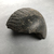 <em>Part of a Wig from a Composite Statue</em>, ca. 1352-1336 B.C.E. Granite, 3 3/4 × 3 7/8 × 2 1/8 in. (9.5 × 9.8 × 5.4 cm). Brooklyn Museum, Charles Edwin Wilbour Fund, 37.561. Creative Commons-BY (Photo: , CUR.37.561_view02.jpg)