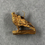 <em>Small Amulet Representing a Falcon</em>. Gold, 9/16 × 3/16 × 9/16 in. (1.5 × 0.5 × 1.5 cm). Brooklyn Museum, Charles Edwin Wilbour Fund, 37.796E. Creative Commons-BY (Photo: , CUR.37.796E_view02.jpg)