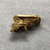 <em>Small Amulet Representing a Falcon</em>. Gold, 9/16 × 3/16 × 9/16 in. (1.5 × 0.5 × 1.5 cm). Brooklyn Museum, Charles Edwin Wilbour Fund, 37.796E. Creative Commons-BY (Photo: , CUR.37.796E_view03.jpg)