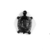 <em>Small Figure of a Tortoise</em>, 664-332 B.C.E. Bronze, gold, 3/8 x 9/16 x 1/2 in. (1 x 1.5 x 1.3 cm). Brooklyn Museum, Charles Edwin Wilbour Fund, 37.853E. Creative Commons-BY (Photo: , CUR.37.853E_NegID_37.853EGRPA_print_cropped_bw.jpg)