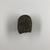 <em>Heart Scarab</em>, ca. 1539-712 B.C.E. Stone, 3/4 × 1 1/4 × 1 7/16 in. (1.9 × 3.1 × 3.7 cm). Brooklyn Museum, Charles Edwin Wilbour Fund, 37.869E. Creative Commons-BY (Photo: , CUR.37.869E_view02.jpg)