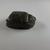 <em>Heart Scarab</em>, ca. 1539-712 B.C.E. Stone, 3/4 × 1 1/4 × 1 7/16 in. (1.9 × 3.1 × 3.7 cm). Brooklyn Museum, Charles Edwin Wilbour Fund, 37.869E. Creative Commons-BY (Photo: , CUR.37.869E_view04.jpg)