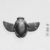 <em>Amulet? Representing a Winged Scarabeus</em>. Stone, 11/16 x 1 5/16 x 1 13/16 in. (1.8 x 3.4 x 4.6 cm). Brooklyn Museum, Charles Edwin Wilbour Fund, 37.880E. Creative Commons-BY (Photo: , CUR.37.880E_NegB_print_bw.jpg)