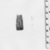 <em>Cylinder Seal or Cylindrical Bead</em>, ca. 1292-1190 B.C.E. Steatite, glaze, 1 1/16 x 7/16 in. (2.7 x 1.1 cm). Brooklyn Museum, Charles Edwin Wilbour Fund, 44.123.127. Creative Commons-BY (Photo: , CUR.44.123.127_NegC_print_bw.jpg)