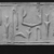 <em>Cylinder Seal</em>, ca. 3100-2800 B.C.E. Egyptian ebony, 1 3/8 x 1 5/16 in. (3.5 x 3.4 cm). Brooklyn Museum, Charles Edwin Wilbour Fund, 44.123.28. Creative Commons-BY (Photo: , CUR.44.123.28_NegC_print_bw.jpg)