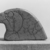 <em>Falcon Head Endpiece of a Necklace</em>, ca. 1938-1759 B.C.E. Faience, 2 1/8 x 2 15/16 x 3/8 in. (5.4 x 7.4 x 0.9 cm). Brooklyn Museum, Gift of Mr. and Mrs. Alastair B. Martin, 48.178. Creative Commons-BY (Photo: , CUR.48.178_NegA_print_bw.jpg)