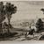 Wenceslaus Hollar (Czechoslovakian, 1607-1677). <em>Le Paysage au Postillon: Jan Wildens</em>. Etching on laid paper, 5 11/16 x 8 11/16 in. (14.5 x 22 cm). Brooklyn Museum, Gift of William Lybrand, 48.193.77 (Photo: , CUR.48.193.77.jpg)