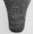 <em>Cup from a Relief-Decorated Chalice</em>, ca. 1070 B.C.E.-718 B.C.E. Faience, Height: 3 7/8 in. (9.9 cm). Brooklyn Museum, Charles Edwin Wilbour Fund, 49.133. Creative Commons-BY (Photo: , CUR.49.133_NegB_print_bw.jpg)