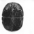 <em>Large Steatite? Heart Scarab</em>. Stone, 1 7/8 x 2 7/8 x 4 1/8 in. (4.7 x 7.3 x 10.4 cm). Brooklyn Museum, Anonymous gift, 49.25. Creative Commons-BY (Photo: , CUR.49.25_NegB_print_bw.jpg)