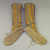 Apache (possibly Mescalero). <em>High Beaded Boots</em>, 19th century. Hide, rawhide, beads, 12 1/4 x 4 1/2 x 9 1/2 in. (31.1 x 11.4 x 24.1 cm). Brooklyn Museum, Henry L. Batterman Fund and Frank Sherman Benson Fund, 50.67.25a-b. Creative Commons-BY (Photo: Brooklyn Museum, CUR.50.67.25a-b_view2.jpg)