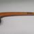 Chippewa (Anishinaabe) (probably). <em>Ball-headed War Club</em>, early 19th century. Wood, pigment, 6 1/2 × 3 1/2 × 29 9/16 in. (16.5 × 8.9 × 75.1 cm). Brooklyn Museum, Henry L. Batterman Fund and the Frank Sherman Benson Fund, 50.67.83. Creative Commons-BY (Photo: , CUR.50.67.83_view02.jpg)