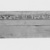 <em>Coffin and Cover of Princess Mayet</em>, ca. 2008-1957 B.C.E. Wood (Mediterranean cypress - Cupressus sempervirens, Syramore fig - ficus sycomorus, tamarisk - Tamarix sp.), pigment, 19 × 15 1/2 × 72 in. (48.3 × 39.4 × 182.9 cm). Brooklyn Museum, Charles Edwin Wilbour Fund, 52.127a-b. Creative Commons-BY (Photo: , CUR.52.127a-b_NegD_print_bw.jpg)