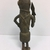 Edo. <em>Standing Male Figure</em>, 19th century. Copper alloy, 8 3/4 × 3 1/8 in. (22.2 × 8 cm). Brooklyn Museum, Gift of Arturo and Paul Peralta-Ramos, 56.6.67. Creative Commons-BY (Photo: , CUR.56.6.67_back.jpg)