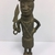 Edo. <em>Standing Male Figure</em>, 19th century. Copper alloy, 8 3/4 × 3 1/8 in. (22.2 × 8 cm). Brooklyn Museum, Gift of Arturo and Paul Peralta-Ramos, 56.6.67. Creative Commons-BY (Photo: , CUR.56.6.67_front.jpg)