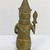 Edo. <em>Standing Figure</em>, 19th or 20th century. Copper alloy, 7 11/16 × 3 3/8 in. (19.5 × 8.5 cm). Brooklyn Museum, Gift of Arturo and Paul Peralta-Ramos, 56.6.75. Creative Commons-BY (Photo: , CUR.56.6.75_back.jpg)