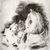 Giovanni Romagnoli (Italian, 1893-1976). <em>Donna Seduta</em>. Etching on wove paper, 9 1/16 x 8 in. (23 x 20.3 cm). Brooklyn Museum, Carll H. de Silver Fund, 58.165.13. © artist or artist's estate (Photo: Brooklyn Museum, CUR.58.165.13.jpg)