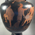 Lucanian. <em>Red-Figure Neck Amphora</em>, early 4th century B.C.E. Clay, slip, 19 3/4 × Diam. 10 7/16 in. (50.2 × 26.5 cm). Brooklyn Museum, Bequest of Mary Olcott in memory of her brother, George N. Olcott, and her grandfather, Charles Mann Olcott, one of the founders of the Brooklyn Institute of Arts and Sciences, 62.147.6. Creative Commons-BY (Photo: Brooklyn Museum, CUR.62.147.6_view12.jpg)