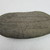Rapanui. <em>Stone Pillow</em>. Basalt, 3 3/8 x 7 5/8in. (8.5 x 19.3cm). Brooklyn Museum, Gift of Joanna Bergvall, 67.183. Creative Commons-BY (Photo: , CUR.67.183_overall.jpg)