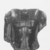 <em>Royal Torso</em>, 1759-1539 B.C.E. Granite, 20 1/2 x 20 1/2 x 9 13/16 in. (52 x 52 x 25 cm). Brooklyn Museum, Charles Edwin Wilbour Fund, 68.178. Creative Commons-BY (Photo: , CUR.68.178_NegH1_print_bw.jpg)