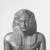 <em>Standing Royal Figure</em>, 30 B.C.E.-642 C.E. Bronze, 14 x 3 3/4 x 5 1/2 in. (35.6 x 9.5 x 14 cm). Brooklyn Museum, Gift of Helena Simkhovitch in memory of her father, Vladimir G. Simkhovitch, 72.129. Creative Commons-BY (Photo: , CUR.72.129_NegB_print_bw.jpg)