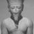 <em>Amun-Re or King Amunhotep III</em>, ca. 1403-1365 B.C.E. Quartzite, 7 11/16 x 5 5/8 x 3 15/16 in. (19.5 x 14.3 x 10 cm). Brooklyn Museum, Charles Edwin Wilbour Fund, 76.39. Creative Commons-BY (Photo: , CUR.76.39_NegID_L_703_13_print_bw.jpg)