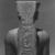 <em>Amun-Re or King Amunhotep III</em>, ca. 1403-1365 B.C.E. Quartzite, 7 11/16 x 5 5/8 x 3 15/16 in. (19.5 x 14.3 x 10 cm). Brooklyn Museum, Charles Edwin Wilbour Fund, 76.39. Creative Commons-BY (Photo: , CUR.76.39_NegID_L_703_14_print_bw.jpg)