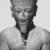 <em>Amun-Re or King Amunhotep III</em>, ca. 1403-1365 B.C.E. Quartzite, 7 11/16 x 5 5/8 x 3 15/16 in. (19.5 x 14.3 x 10 cm). Brooklyn Museum, Charles Edwin Wilbour Fund, 76.39. Creative Commons-BY (Photo: , CUR.76.39_NegID_L_703_18_print_bw.jpg)