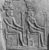 Egyptian. <em>Stela of Two Deified Men(?)</em>, late 1st century B.C.E.-early 1st century C.E. Sandstone, 34 5/16 x 31 7/16 x 4 5/16 in. (87.2 x 79.9 x 10.9 cm). Brooklyn Museum, Charles Edwin Wilbour Fund, 76.8. Creative Commons-BY (Photo: , CUR.76.8_NegI_print_bw.jpg)