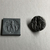 Ancient Near Eastern. <em>Stamp Seal</em>, 1800-1650 B.C.E. Hematite or magnetite, 1/2 x Diam. 7/8 in. (1.3 x 2.2 cm). Brooklyn Museum, Special Middle Eastern Art Fund, 77.8.2. Creative Commons-BY (Photo: , CUR.77.8.2_view01.jpg)