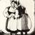 Grace Arnold Albee (American, 1890-1995). <em>Gossipy Bretons</em>, 1977. Wood engraving on vellum, Image: 6 x 4 15/16 in. (15.2 x 12.5 cm). Brooklyn Museum, Designated Purchase Fund, 78.230.1. © artist or artist's estate (Photo: Brooklyn Museum, CUR.78.230.1.jpg)