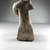 <em>Crudely Molded Seated Figure</em>. Terracotta, 5 7/16 × 2 1/2 × 2 15/16 in. (13.8 × 6.4 × 7.4 cm). Brooklyn Museum, Gift of the Egyptian Antiquities Organization, 80.7.16. Creative Commons-BY (Photo: , CUR.80.7.16_view04.jpg)