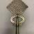 Amhara artist. <em>Processional Cross (qäqwami mäsqäl)</em>, 20th century. Silver, 15 x 8 1/8 in. (38.2 x 20.7 cm). Brooklyn Museum, Gift of George V. Corinaldi Jr., 82.102.2. Creative Commons-BY (Photo: , CUR.82.102.2_back.jpg)