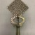 Amhara artist. <em>Processional Cross (qäqwami mäsqäl)</em>, 20th century. Silver, 15 x 8 1/8 in. (38.2 x 20.7 cm). Brooklyn Museum, Gift of George V. Corinaldi Jr., 82.102.2. Creative Commons-BY (Photo: , CUR.82.102.2_front.jpg)
