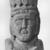 Ancient Near Eastern. <em>Head and Bust of Goddess Atargatis</em>, ca. 100 B.C.E. – 100 C.E. Crystalline limestone, 15 11/16 x 8 3/8 x 5 15/16 in. (39.8 x 21.2 x 15.1 cm). Brooklyn Museum, Gift of Dr. Daniel Solomon, 83.159. Creative Commons-BY (Photo: Brooklyn Museum, CUR.83.159_NegA_print_bw.jpg)