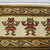 Chancay. <em>Textile Border Fragment</em>, 1100-1400. Cotton, camelid fiber weft-faced plain weave and slit-tapestry weave, Textile only (not board): 12 1/4 × 44 3/4 in. (31.1 × 113.7 cm). Brooklyn Museum, Gift of the Ernest Erickson Foundation, Inc., 86.224.139. Creative Commons-BY (Photo: , CUR.86.224.139_detail01.jpg)