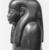 <em>Shabty of the Man Maya</em>, ca. 1390-1352 B.C.E. Wood, pigment, glass, 16 x 3 9/16 x 5 1/2 in. (40.7 x 9 x 14 cm). Brooklyn Museum, Gift of the Ernest Erickson Foundation, Inc., 86.226.21. Creative Commons-BY (Photo: , CUR.86.226.21_NegB_print_bw.jpg)